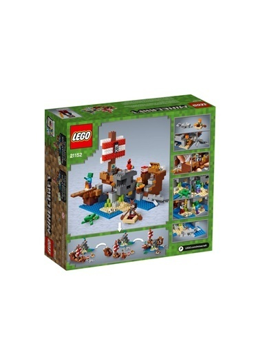 Lego LEGO Minecraft Pirate Ship Adv Renkli